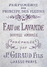 French Lavender STENCIL 5 sizes FL Vintage Chic Furniture, SUPERIOR 250 MYLAR