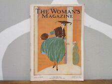 Vtg 1916 The Woman'S Magazine November New Idea 1900s Overland+Munsing Wear+