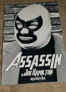 ASSASSIN book MAN BEHIND THE MASK paperback nwa georgia championship wrestling