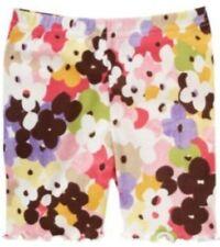 Gymboree GLAMOUR SAFARI  floral print bike shorts size 6-12 months NWT