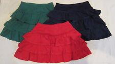 Mini Boden FRUNCIDO Capas Jersey Invierno Falda 3 Colores Edad 1 -14