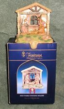 Fontanini Collectibles Christmas Holy Family Stocking Holder Nativity Rare Nib