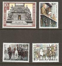 BELGIUM # B-836-9 MNH ROYAL FAMILY  & SOLDIER'S TOMB