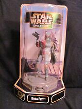 Nuevo en Paquete Star Wars Epic Force Rotar 360 Figura Giratorios Boba Fett 1997