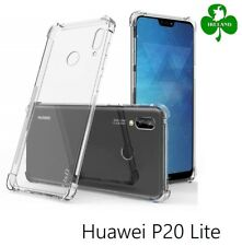 For Huawei P20 Lite Case Cover Crystal Clear Gel Protective ShockProof Case