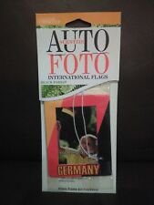 Photo Frame Car Air Freshener-International Flags Themed-Fresh and Clean Scent