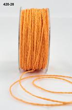 Paper Cord Ribbon -  May Arts - 420-28 - Lt Orange - 5 yds.