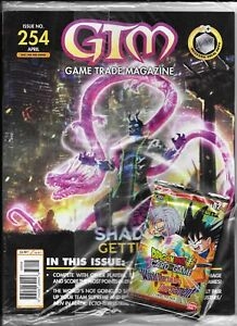 Game Trade Magazine #254 w/Dragonball Z Promo Card Pack (GTM, 2021) New/Sealed
