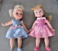 "Disney Princesses Lot ~ Aurora & Cinderella 12"" Soft Plush Body Vinyl Head"