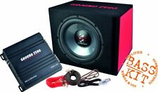 Subwoofer Bass Complete System Ground Zero GZ Bass Kit 12.300 with Cable Kit