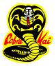 Cobra Kai Logo Karate Kid 80s Movie Iron On T-Shirt Transfer A5