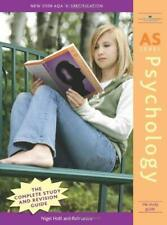 AS Psychology : The Study Guide by Holt, Nigel