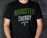 Monster Energy Drink Promo T Shirt Established In 2002 Size L Newest Release