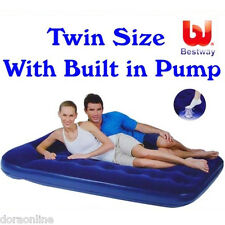 Bestway Twin Inflatable Mattress Air Bed With Pump
