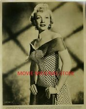 "Barbara Cummings Lilli Marlene Original 8x10"" Photo #L3189"