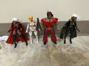 MARVEL LEGENDS X-MEN CUSTOM X FORCE WARPATH, STORM RED, STORM BLACK, EMMA FROST