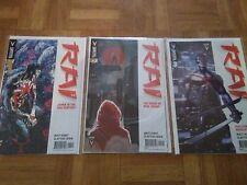 Lot de 3 comics VO ''Rai'' Valiant comics (2014) par Matt Kindt & Clayton Crain