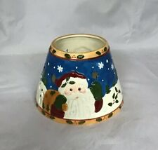 New Santa Candle Shade Topper Christmas