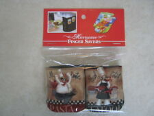 Chefs-Cotton-Microwave Oven Mitts--Hot Pads-Pot Holder-Patty's Mitts FREE