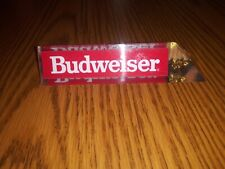 Vintage Budweiser Acrylic Lucite 3 Sided Beer Tap Handle 5.5� Eagle