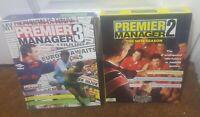 Premier Manager 2 & 3 Commodore Amiga Computer - Bundle