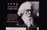 1996 UNC Coin SET Australia uncirculated