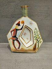 Beautiful Italian Decorative Hand Painted Vintage Drinks Bottle/Decanter.