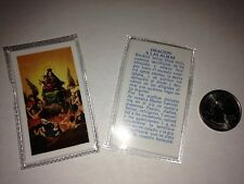 SMALL HOLY PRAYER CARDS FOR A LAS ALMAS IN SPANISH SET OF 2