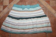 NWT Gymboree All Spruced Up Size 2T Green Striped Fair Isle Skirt