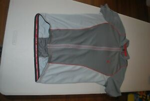 Specialized Cycling Jersey Size men's Large gray full zip