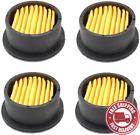 Air Compressor Filter Elements, 4 Pack Air Compressor Intake Paper Filter Elemen