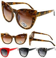 Oversize Cat Eye Sunglasses Fashion Vintage Shades Oversized Womens Designer