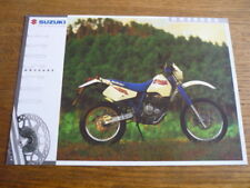 SUZUKI DR 350SE MOTORBIKE BROCHURE, 1995 POST FREE (UK)