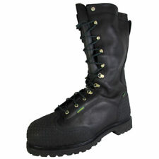 John Deere Leather Solid Boots for Men