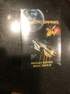 Companion Games Galactic Empires Primary Edition - Basic Deck B CCG VG+