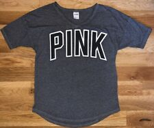 PINK Victoria's SECRET XS Juniors SLUB Knit TISSUE Tee SHIRT Top T-SHIRT LN Soft