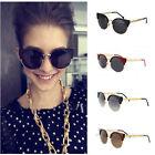 Unisex Cat Eye Sunglasses Men/Women's Fashion Vintage Metal Frame Round Glasses