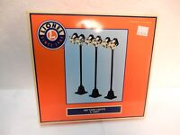 Lionel 12927 Set of Three #65 Yard Lights for  O gauge Train Layout- off layout-