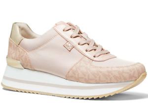 NIB Size 10 Michael Kors Monique Athletic Trainer Sneakers Shoes Ballet Pink