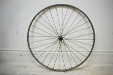 """C.1950s DUNLOP SPECIAL LIGHTWEIGHT/ BAYLISS WILEY FRONT HUB, 27 X 1 1/4"""" WHEEL"""