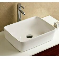 Rectangle Countertop Countertop Bathroom Sinks