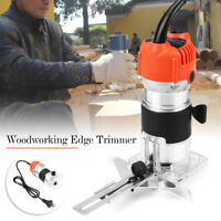 30000 RPM 220V 680W 6.35mm Electric Edge Trimmer Hand Furniture Woodworking