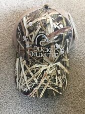 Brand New Ducks Unlimited Mossy Oak Blades Official Trucker Hat