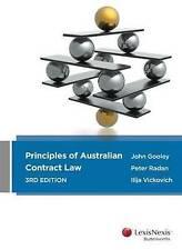 Principles of Australian Contract Law by Ilija Vickovich, Peter Radan, John Goo…