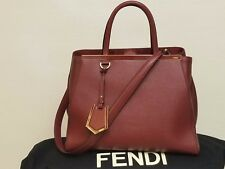 Fendi BURGUNDY  3Jours Tote Bag very good cond with shoulder strap