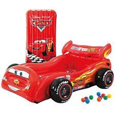 Intex 48667NP - Cars Matratze Spielauto mit Bälle