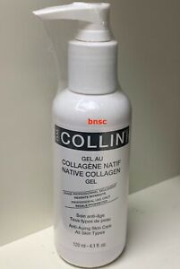 new G.M. Collin Native Collagen Gel For All Skin Types 4.1 oz 120 ML EXP 10/2022