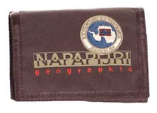 Portafoglio Uomo Napapijri 4B N N3Z07 Wallet North Cape SLG Chestnut