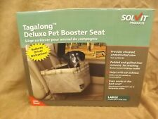 NEW Solvit 16x14x8 Delux Pet Booster Seat Sz L Up to 18 lbs Soft Padded Washable