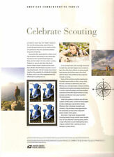 #897 (45c) Forever Celebrate Girl Scouting #4691 USPS Commemorative Stamp Panel
